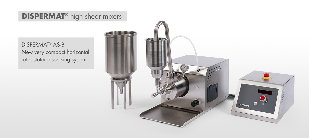 DISPERMAT® Mixers - High Shear Mixers / High Speed Mixers